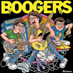 Boogers CD cover