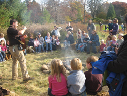 campfire; storytelling; new canaan nature center