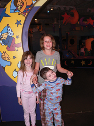 pajama party at long island children's museum