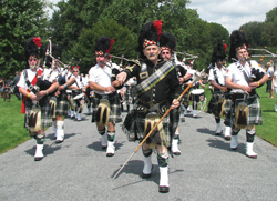Long Island Scottish Games and Festival at Old Westbury Gardens, Old Westbury, NY