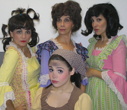The evil stepsisters take the stage at Elmont Children's Theatre and the Theatre at Westbury, August 2 and August 17.