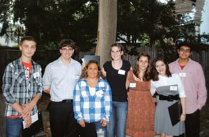 Edward Hopper House Art Center's scholarship recipients;