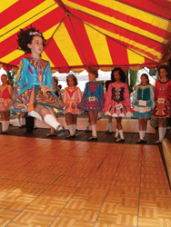 Constitution State Feis at Quassy Amusement Park; Irish step festival