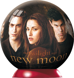 Twilight Sage: New Moon; Ravensburger 3-D puzzle balls