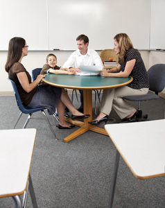 parent-teacher conference; how to establish a good relationship with your child's teacher