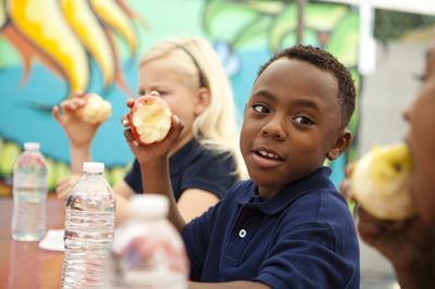 school lunchroom; cafeteria; elementary school; school lunch reform; healthy, hunger-free kids act; child nutrition act