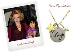 Katherine Heigl and daughter, Naleigh; Isabelle Grace Jewelry; celebrity moms, child jewelry; celebrity fashion