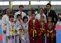 World Champion Taekwondo, Fairfield County, CT, team
