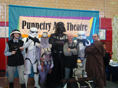 Puppetry Arts Theatre Haunted Halloween Carnival