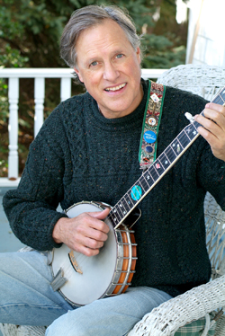 Tom Chapin and banjo