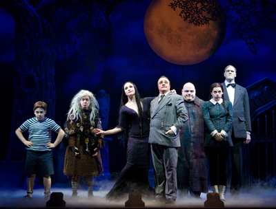 The Addams Family on Broadway