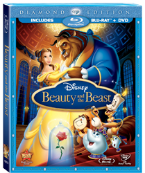 Disney's Beauty and the Beast Diamond Edition, DVD cover