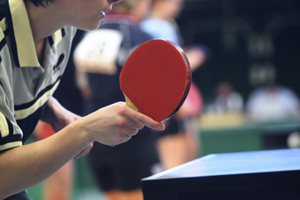 ping pong; table tennis