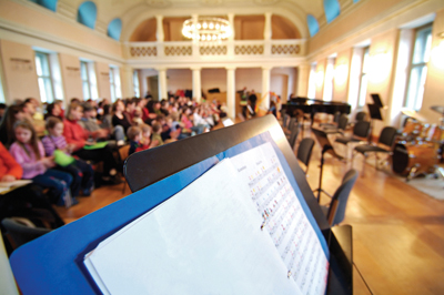 music in schools; music education; music assembly; sheet music