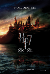 Harry Potter and the Deathly Hallows movie poster; Harry Potter 7 film