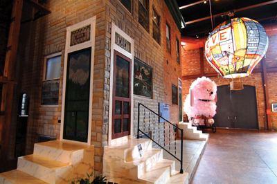 The American Visionary Art Museum in Baltimore, Maryland
