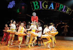 "Big Apple Circus ""Dance On!""; grandma and dancers from Big Apple Circus"
