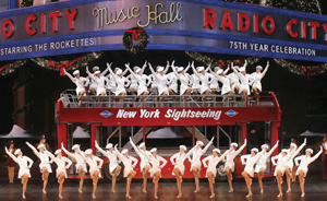 Christmas Spectacular at Radio City Music Hall; Radio City Rockettes
