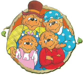 Berenstain Bears portrait