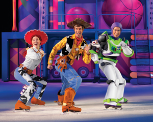 Toy Story 3, Disney on Ice; Woody, Jessie, and Buzz from Toy Story
