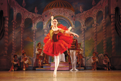 "Westchester Ballet Company's production of ""The Nutcracker"""
