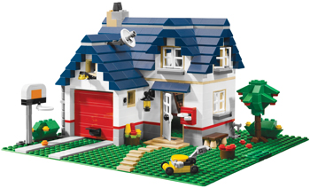 Lego Creator Apple Tree House; toys for kids with ADHD