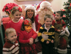 Brunch with Santa at Bourbon Street, Bayside, Queens, NY