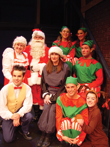 "The cast of ""Barnady Saves Christmas"""