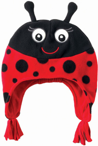lady bug hat from The Children's Place