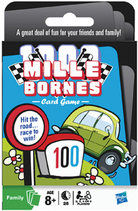 Mille Bornes card game from Hasbro