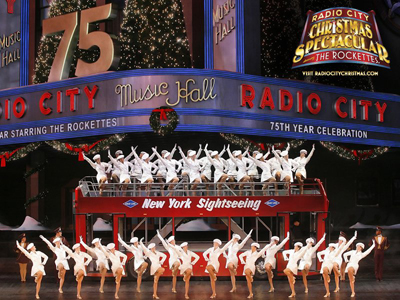 Radio City Christmas Spectacular; Rockettes