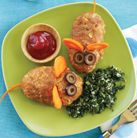 turkey and rice mice, recipe from weight watchers