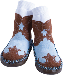 Jazzy Toes cowboy slippers