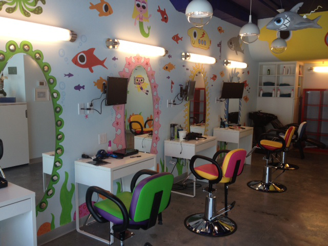 Kids Hair Salon : At Edamama Cute Cuts and More, children have the option of sitting at ...