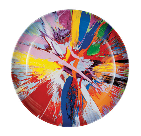 Damien Hirst Spin plate