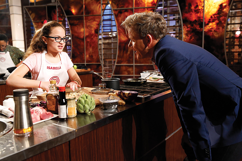 isabella velez with gordon ramsay
