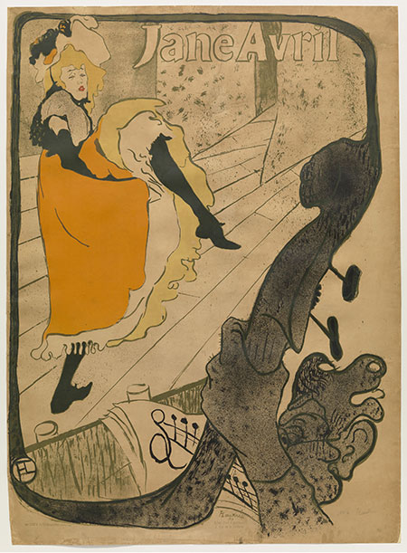 Toulouse-Lautrec's Jane Avril