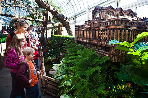 New York Botanical Garden's 2014 Holiday Train Show