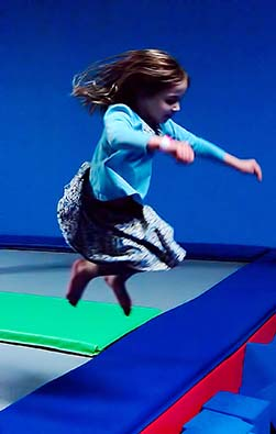 Bounce Trampoline Sports Offers Sensory Bounce Time