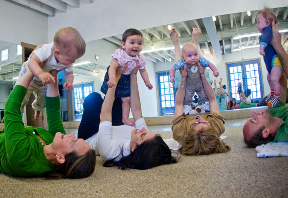 mommy music and me infant class