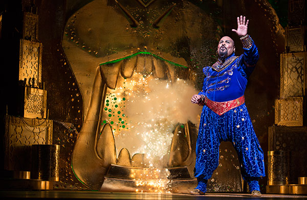 James Iglehart as the Genie in Aladdin