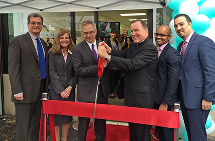 fidelis care yonkers community office ribbon cutting