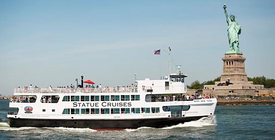 Liberty Island Nj Ferry