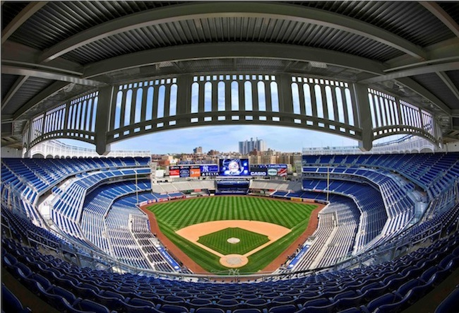 Tour the home of the 27 time world champion new york yankees a fantastic destination for all - Yankee stadium images ...