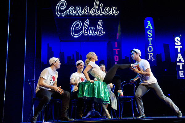 on the town broadway scene