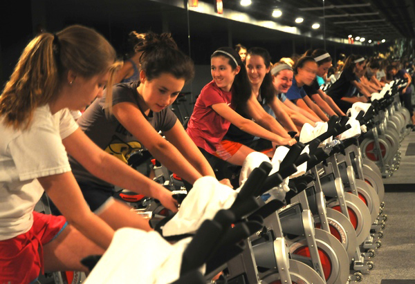 spinning for teens