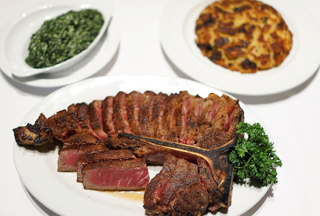 Staghorn Steakhouse Steak and Sides