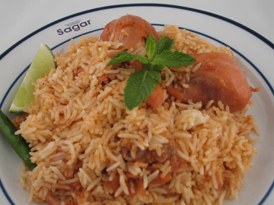 rice-dish-sagar-restaurant-queens