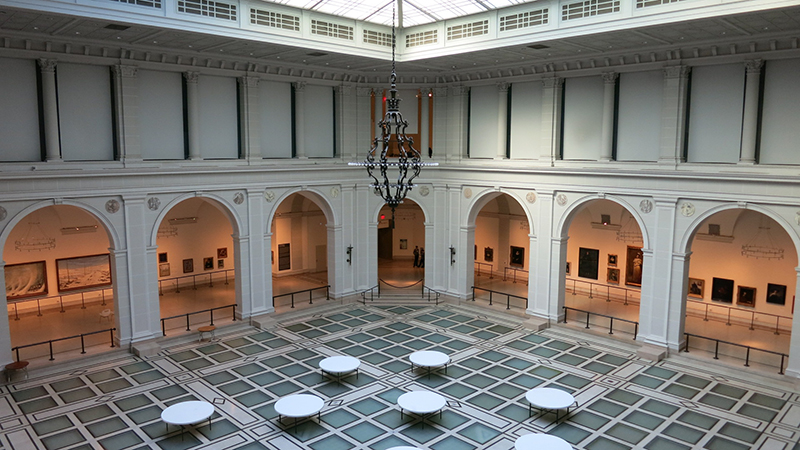 brooklyn museum atrium