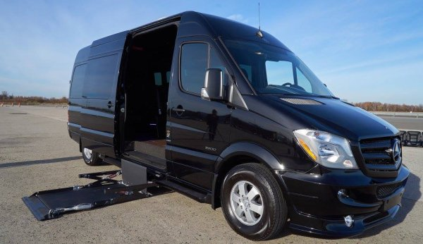 mobility luxury mercedes sprinter van nyc